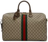 Gucci Beige GG Supreme Ophidia Duffle Bag