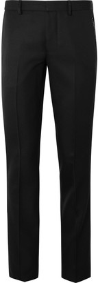 Givenchy Black Slim-Fit Twill Trousers