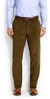 Lands' End Men's Comfort Waist 10-wale Corduroy Dress Trousers-Kona Brown
