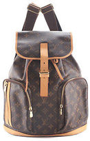 Louis Vuitton Brown Coated Canvas Monogram Sac A Dos Bosphore Backpack BCL-97MHL