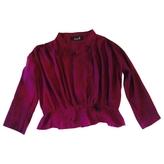 Isabel Marant Purple Cotton Top