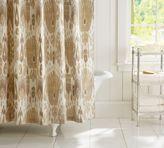 Pottery Barn Vivian Ikat Shower Curtain