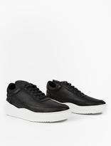 Filling Pieces Black Low Top Sky Sneakers