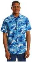 Hurley Island S/S Shirt (Blue) - Apparel