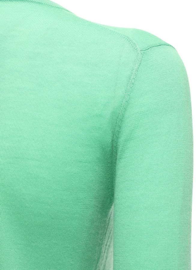 Thumbnail for your product : Ralph Lauren Collection Ribbed Knit Cashmere Cardigan