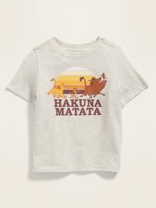 "Old Navy Disney The Lion King ""Hakuna Matata"" Tee for Toddler Boys"