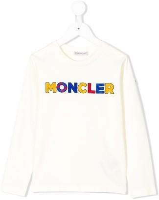 Moncler Enfant logo T-shirt