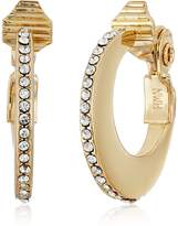 Anne Klein Hoop Clip-On Earrings