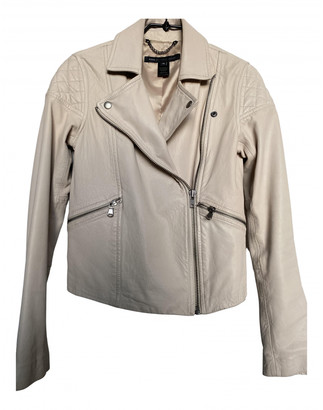 Marc by Marc Jacobs Beige Leather Leather jackets