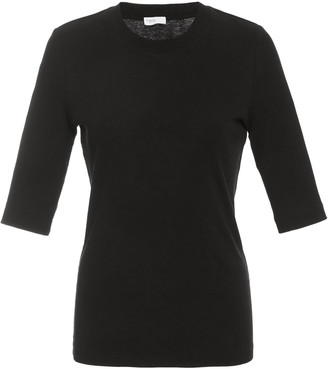 Rosetta Getty Fitted Cotton T-Shirt