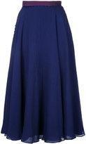 Roksanda pleated skirt - women - Polyester/Acetate - 10