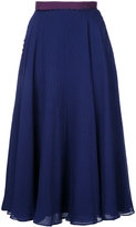 Roksanda pleated skirt - women - Polyester/Acetate - 8