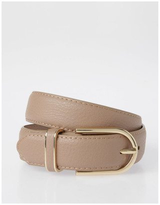 Piper DTP19-P568-28D Skinny Gold Buckle Belt
