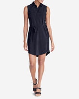 Eddie Bauer Women's Departure Sleeveless Shirt Dress