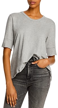 Wilt Cotton Crossover-Back Tee