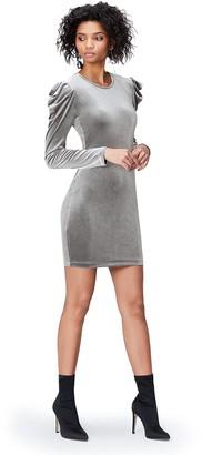 Find. Amazon Brand Women's Velvet Bodycon Dress