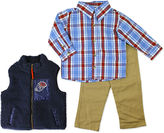 Asstd National Brand Boys Long Sleeve Pant Set-Toddler