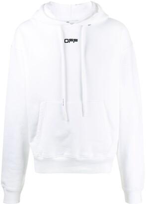 Off-White Wavy Line Logo Hoodie