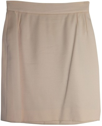 Christian Dior Pink Wool Skirt for Women Vintage