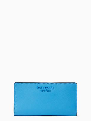 Kate Spade Cameron Monotone Large Slim Bifold Wallet