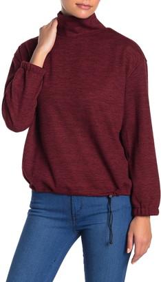Alkamy Turtleneck Drawstring Pullover Sweater