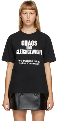 Undercover Black Chaos T-Shirt