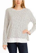 Olivaceous Double Lined Sweater