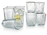 Libbey Frost 16 Piece Glassware Set