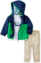 Little Me Whale 3-Piece Jacket Set (Baby Boys)