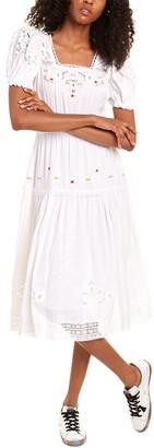 LoveShackFancy Ayden Midi Dress