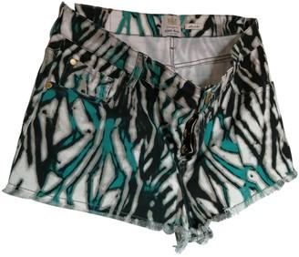 River Island Multicolour Cotton - elasthane Shorts for Women
