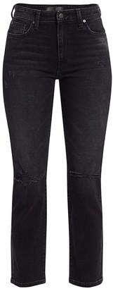Joe's Jeans Milla Straight Distressed Jeans