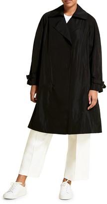 Marina Rinaldi, Plus Size Waterproof Taffeta Trench Coat