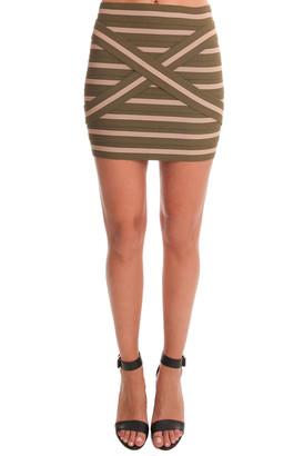 Pleasure Doing Business Pleasure Doing Buisness Cross Band Skirt