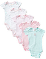 Starting Out Baby Girls Newborn-3 Months 5-Pack Bunny Bodysuits