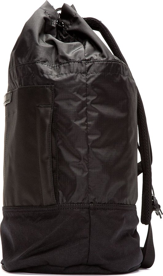 Marc by Marc Jacobs Black Drawstring Duffle Backpack