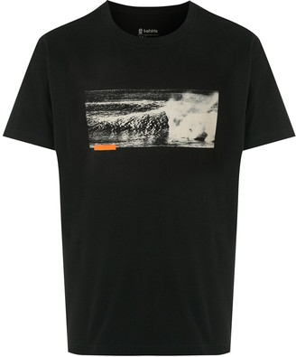 OSKLEN wave print T-shirt