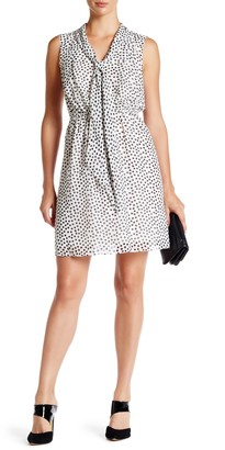 Betsey Johnson Dipping Dots Chiffon Dress