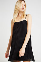 BCBGeneration Strappy Pleated Dress - Black