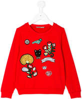 Ermanno Scervino patch sweatshirt