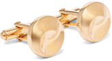 Lanvin Gold-plated Cufflinks - Gold