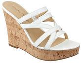 Ivanka Trump Howen Wedge Platform Leather Slide Sandals