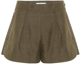 Chloé Linen and cotton shorts