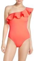 Ted Baker Women's Ruffle One-Piece Swimsuit