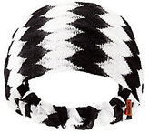 Missoni Black And White Chevron Headband