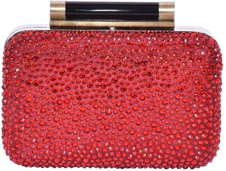 Diane von Furstenberg Glitter clutch bag