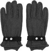 Reiss Reiss Sailsbury - Tonal Contrast Gloves In Grey