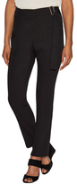 Maiyet High Waist Wrap Front Pant