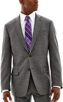 Claiborne Black & White Nailhead Stretch Suit Jacket - Classic Fit