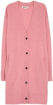 McQ Pink Wool And Cashmere Cardigan